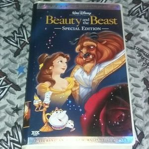 Disney Beauty and the Beast Special Edition VHS
